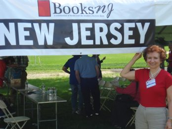 One of Marian's favorite author gigs is the biannual BooksNJ Festival, organized by the invaluable Bergen County Cooperative Library System (BCCLS).